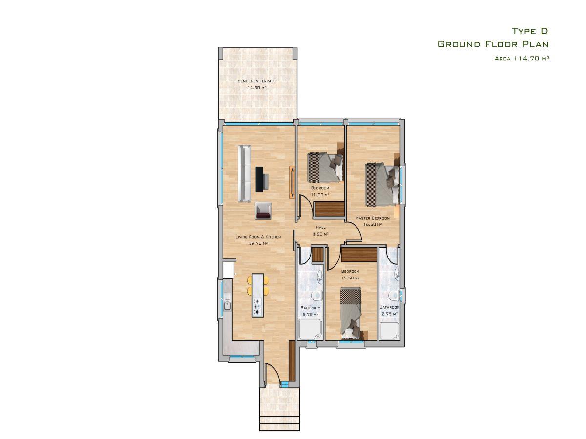 Block D Erdgeschoss